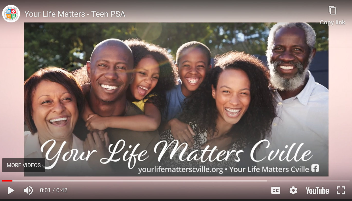 Your life matter
