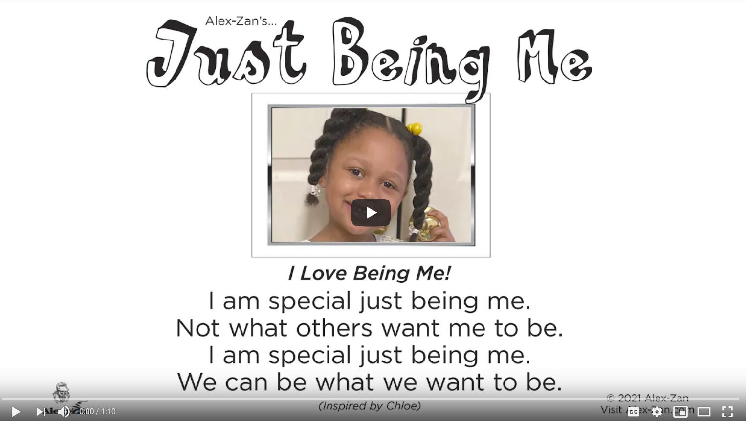 Just Being Me Video